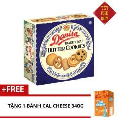 Bánh quy bơ Danisa butter 681g + Tặng bánh Cal Cheese 340g