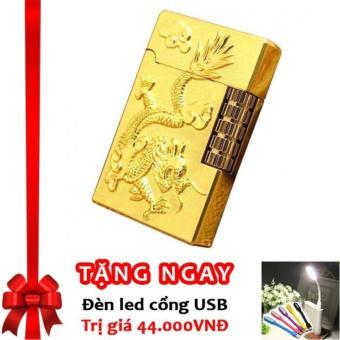 Bật lửa bánh xe ngang Long Phụng F517 (Vàng) + Tặng đèn LED cổng USB - 8661882 , OE680WNAA8R7KVVNAMZ-17125454 , 224_OE680WNAA8R7KVVNAMZ-17125454 , 100000 , Bat-lua-banh-xe-ngang-Long-Phung-F517-Vang-Tang-den-LED-cong-USB-224_OE680WNAA8R7KVVNAMZ-17125454 , lazada.vn , Bật lửa bánh xe ngang Long Phụng F517 (Vàng) + Tặng đ
