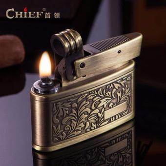 Bật Lửa Xăng Đá Cao Cấp Chief CF658