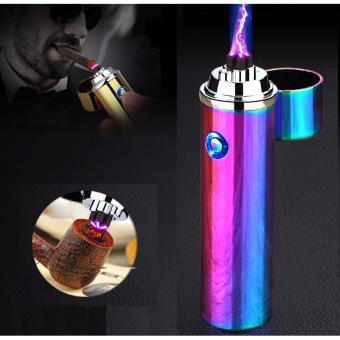 Bật lửa xung điện đa năng phóng 2 tia plasma cực mạnh F213 (Đa màu)