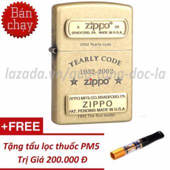 Bật lửa Zippo Yearly Code đồng bụi + Tặng tẩu thuốc mini PM5 - 8853004 , ZI750WNAA7DKEEVNAMZ-13640671 , 224_ZI750WNAA7DKEEVNAMZ-13640671 , 2300000 , Bat-lua-Zippo-Yearly-Code-dong-bui-Tang-tau-thuoc-mini-PM5-224_ZI750WNAA7DKEEVNAMZ-13640671 , lazada.vn , Bật lửa Zippo Yearly Code đồng bụi + Tặng tẩu thuốc mini P