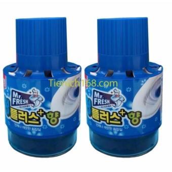 Bộ 2 Chai thả bồn cầu tự động làm sạch diệt khuẩn và làm thơm Mr.Fresh - 8661015 , OE680WNAA5PZCKVNAMZ-10500100 , 224_OE680WNAA5PZCKVNAMZ-10500100 , 230000 , Bo-2-Chai-tha-bon-cau-tu-dong-lam-sach-diet-khuan-va-lam-thom-Mr.Fresh-224_OE680WNAA5PZCKVNAMZ-10500100 , lazada.vn , Bộ 2 Chai thả bồn cầu tự động làm sạch diệt khuẩn và