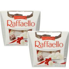 Bộ 2 chocolate Raffaello bọc dừa 300g Đức