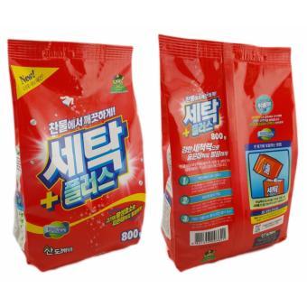 Bộ 2 gói bột giặt Sandokkaebi Hàn Quốc 800Gr