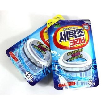 Bộ 2 Gói bột tẩy vệ sinh lồng máy giặt 450g