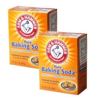 Hãng sản xuất Bộ 2 hộp bột Baking Soda đa công dụng 454g  nổi tiếng