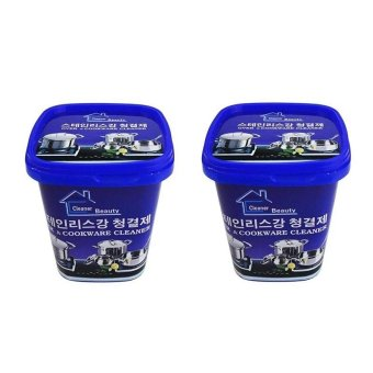 Bộ 2 hộp Kem tẩy xoong nồi và đồ gia dụng Cao cấp Hàn Quốc
