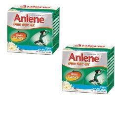 Bộ 2 lốc Anlene Concentrate Vanilla 4x125ml