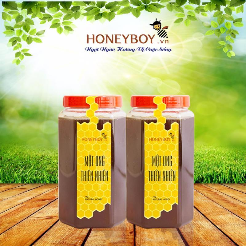 Bộ 2 Mật ong thiên nhiên HONEYBOY 1Kg bán chạy