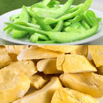 Bộ 2, mứt vỏ bưởi dẻo đặc sản Thái Lan (200g) và sầu riêng sấy giòn (100g)