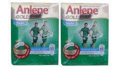 Bộ 2 Sữa bột Anlene Gold 400g (Hộp giấy) dành cho trên 51 tuổi