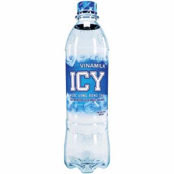 Bộ 2 thùng 48 chai Nước uống đóng chai ICY Vinamilk 500ml