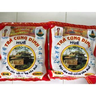 Bộ 2 túi Trà Cung Đình Huế G10 túi 20 gói