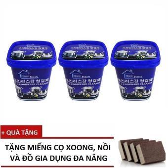 Bộ 3 hộp Kem tẩy rửa nhà bếp đa năng Cao cấp Hàn Quốc+ Tặng Miếng cọ đa năng - 8353832 , NO007WNAA35R26VNAMZ-5514321 , 224_NO007WNAA35R26VNAMZ-5514321 , 199000 , Bo-3-hop-Kem-tay-rua-nha-bep-da-nang-Cao-cap-Han-Quoc-Tang-Mieng-co-da-nang-224_NO007WNAA35R26VNAMZ-5514321 , lazada.vn , Bộ 3 hộp Kem tẩy rửa nhà bếp đa năng Cao cấp