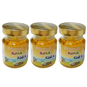 Bộ 3 lọ Nước uống Đông trùng hạ thảo Tổ Yến Hima Kids hương tự nhiên (70ml/lọ)