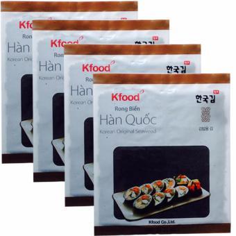 Bộ 4 Gói Rong Biển (1goi X 10 miếng) Sấy Khô Hàn Quốc, Cuộn Cơm Gimbad - 8659342 , OE680WNAA3J2NPVNAMZ-6238081 , 224_OE680WNAA3J2NPVNAMZ-6238081 , 258000 , Bo-4-Goi-Rong-Bien-1goi-X-10-mieng-Say-Kho-Han-Quoc-Cuon-Com-Gimbad-224_OE680WNAA3J2NPVNAMZ-6238081 , lazada.vn , Bộ 4 Gói Rong Biển (1goi X 10 miếng) Sấy Khô Hàn Quốc