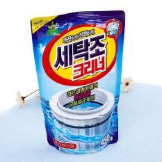 Bộ 5 Gói bột tẩy vệ sinh lồng máy giặt 450g cao cấp