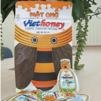 Bộ 5 gói mật ong Viethoney (40 túi x 5g)