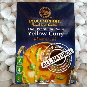 Bột cà-ri vàng kiểu Thái Yellow Curry Paste 70g