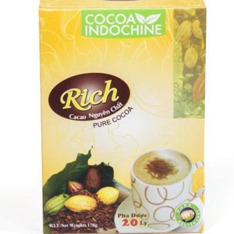 Bột Cacao Hòa Tan Nguyên Chất Rich Cocoa Indochine (Hộp 170g) - 8660282 , OE680WNAA4JWKRVNAMZ-8361481 , 224_OE680WNAA4JWKRVNAMZ-8361481 , 80000 , Bot-Cacao-Hoa-Tan-Nguyen-Chat-Rich-Cocoa-Indochine-Hop-170g-224_OE680WNAA4JWKRVNAMZ-8361481 , lazada.vn , Bột Cacao Hòa Tan Nguyên Chất Rich Cocoa Indochine (Hộp 170g)