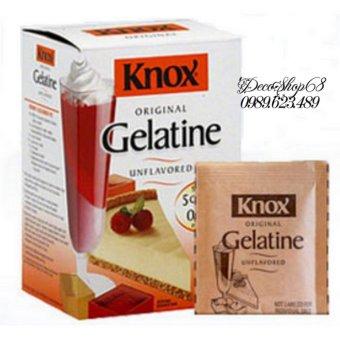 Bột Gelatine nhập khẩu Mỹ combo 10 gói Decoshop68
