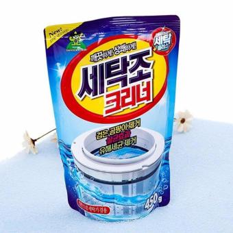 Bột tẩy vệ sinh lồng máy giặt - Sản xuất tại Hàn Quốc 450g