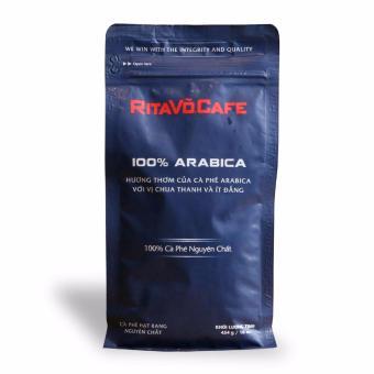 Cà phê hạt rang cao cấp RitaVõ dòng 100% ARABICA 454G