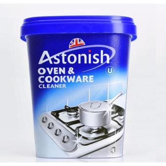 Chất tẩy rửa lò nướng & đồ dùng nhà bếp dạng sệt Astonish Oven& Cookware 500g