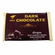 Chocolate đen làm bánh 65% cacao Figo 1kg