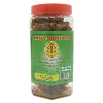 Combo 1 hộp Mực rim me đặc sản Phan Thiết loại hảo hạng 250g + 1 hộp cá bống cắt nướng tẩm gia vị 15...