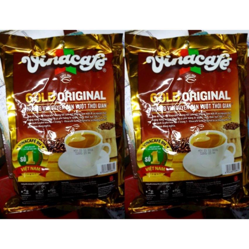 Hình ảnh Combo 2 bịch Cà phê uống liền Vina cafe loại 24 gói