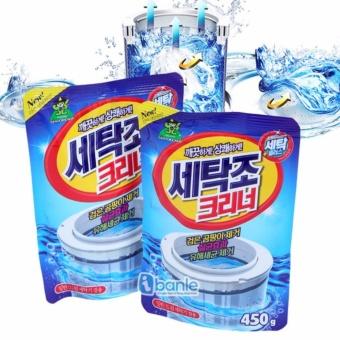 Combo 2 gói Bột tẩy vệ sinh lồng máy giặt Sandokkaebi - Hàn Quốc