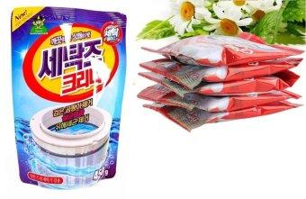 Combo Bột thông tắc bồn cầu siêu mạnh + Túi bột tẩy vệ sinh lồng máy giặt, khử mùi, diệt khuẩn