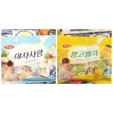 Combo Kẹo Dẻo Hàn Quốc Vị Xoài + Dừa HQ011
