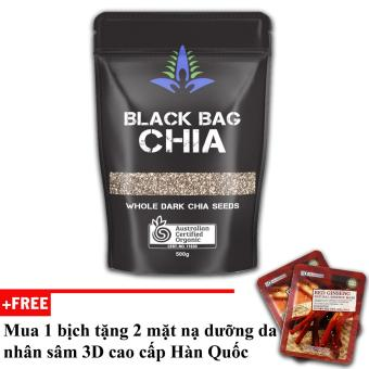Hạt Chia đen Australia Black Bag Chia 500g