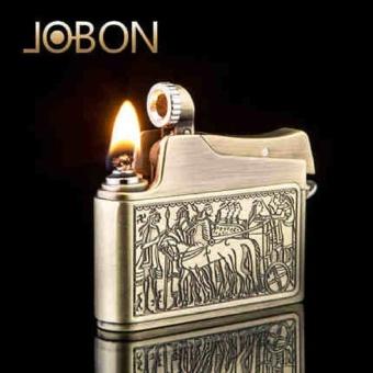 Hộp Quẹt (Bật Lửa )xăng đá Jobon ZB 615A (Vàng Đồng) Auto-fun