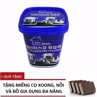 Kem Tẩy Xoong Nồi Và Đồ Gia Dụng Hàn Quốc + Tặng Miếng Cọ Đa Năng - 10303660 , OE680WNAA7A7QJVNAMZ-13455974 , 224_OE680WNAA7A7QJVNAMZ-13455974 , 90000 , Kem-Tay-Xoong-Noi-Va-Do-Gia-Dung-Han-Quoc-Tang-Mieng-Co-Da-Nang-224_OE680WNAA7A7QJVNAMZ-13455974 , lazada.vn , Kem Tẩy Xoong Nồi Và Đồ Gia Dụng Hàn Quốc + Tặng Miếng