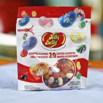 Kẹo Dẻo Jelly Belly Trái Cây 20 Vị 100g