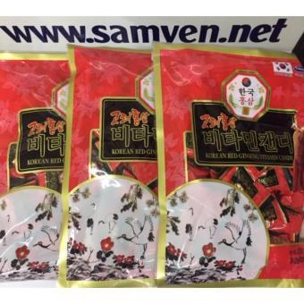 Kẹo hồng sâm vitamin Hàn Quốc 3 gói 200g-PP Sâm Yến Thái An