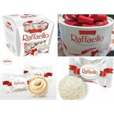Kẹo kem dừa Raffaello hộp có nơ tròn 200gr (nhập khẩu Nga)