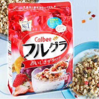 Ngũ cốc Calbee - ngũ cốc trái cây sấy khô 800g