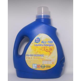 Nước Giặt Hàn Quốc All-100 Liquid Detergent Hương Hoa Lan 3500ml
