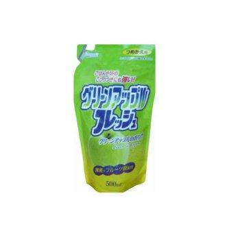 Nước rửa chén Nhật bản Rocket hương Táo - 500ml (dạng refill)