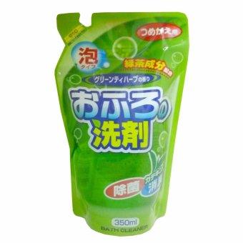 Nước tẩy rửa bồn tắm dạng bọt khử nấm mốc Hương trà xanh - 350ml(dạng refill)
