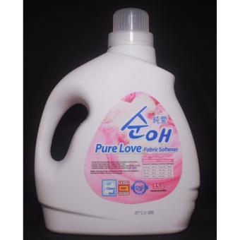 Nước Xả Vải Hàn Quốc Purelove Fabric Softener Hương Hoa 3500Ml