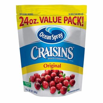 Quả nam việt quất sấy khô Ocean Spray Craisins Dried Cranberries - Value Pack