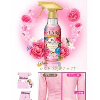 Set 2 chai xịt thơm và làm phẳng quần áo hương hoa