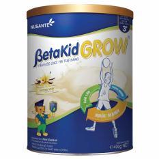Sữa Betakid Grow 400g dành cho trẻ từ 3 đến 6 tuổi giúp phát triển trí não, chiều cao & cân nặng