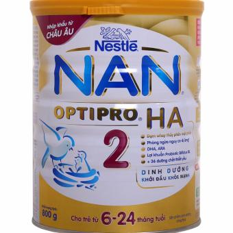 Sữa bột Nestle NAN OPTIPRO HA 2 800gr