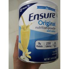 Sữa bột phục hồi sức cho người già, người bệnh, người biếng ăn Ensure Original Nutrition 397gr